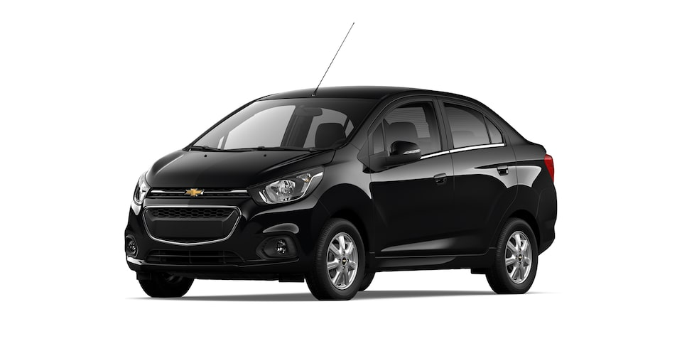 Chevrolet Beat Notchback 2021 color negro