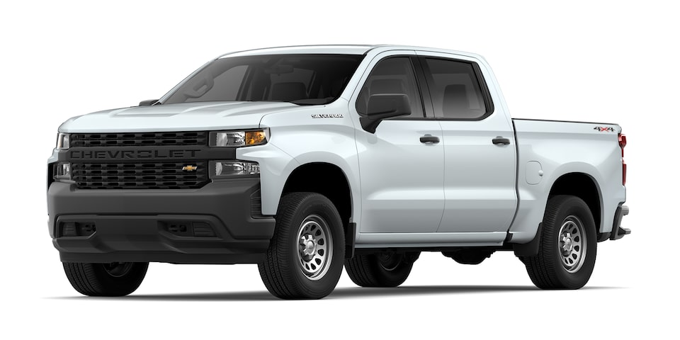 Chevrolet Silverado 2021 color blanco